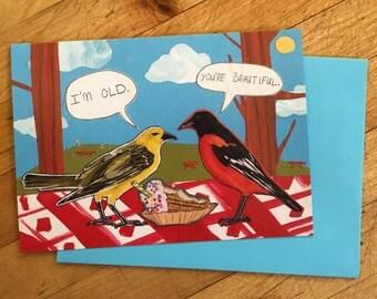 You're Beautiful Birthday Card