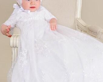 Lillian Baptism Christening LDS Blessing Gown