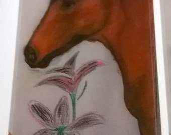 Handmade Horse Stickers