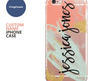personalised iPhone 7 case, custom iphone case, 6 Plus, 6s, 6s Plus, iPhone 6s case, 7 plus case, personalized iphone case (Shipped From UK)