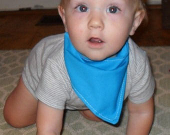 Baby Cowboy Bib, Bandana Bib