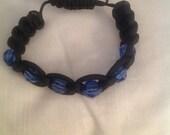 Blue Line Police Support Bracelet