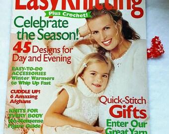 Winter 1999/2000 Millennium Edition Family Circle Knitting Magazine *New*!