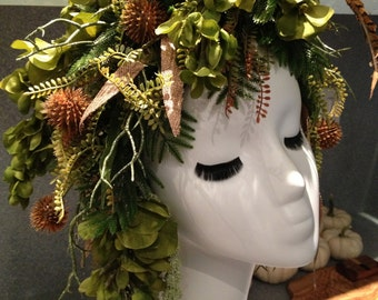 Poison Ivy Headpiece