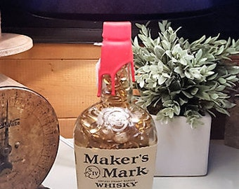 Makers Mark lamp with shade