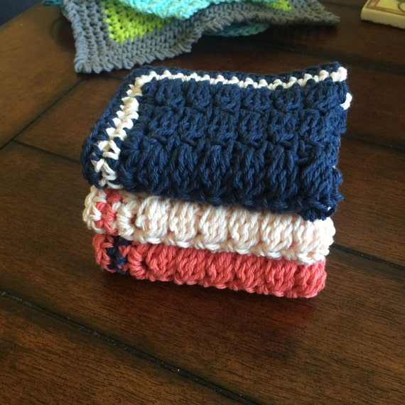 ReduceReuseRecycle Washcloths // Green // Recycle // Reusable // Face Wash