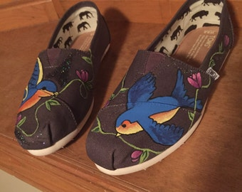 Custom Painted Shoes for Children
