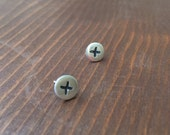 Phillips Screw Post Earrings