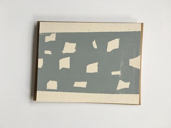 Blue Cajas Card 2012