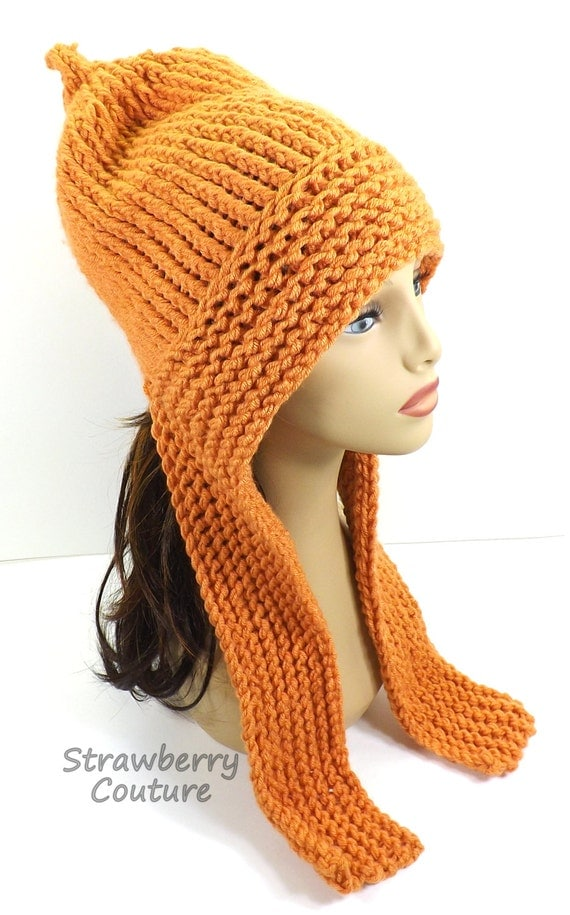 Knitting Pattern, Knitted Hat, Hood Pattern, Pixie Hat Pattern ...