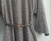 Vintage Arrows Secretary Dress 2X