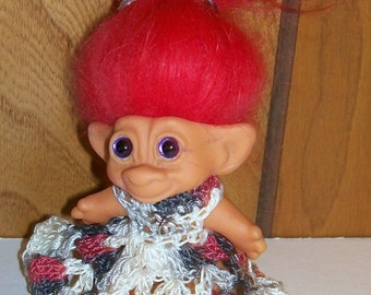 Crochetd Troll Outfit - 3 Inch TROLL OUTFIT