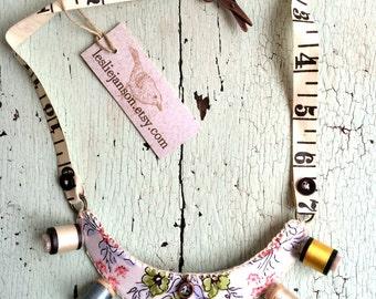 Repurposed Necklace - Sew Fun