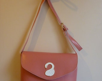 Pink Swan Handbag