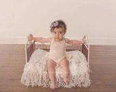 Sitter Romper with Ruffles, Newborn Onesie, Newborn Photo Props, U Choose Color Size