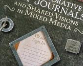 Altered Art Book - Art Journals - Mixed Media - Collage - Scrapbooking - Color - Junk Journals - Artsy Book