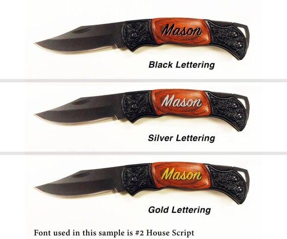 Wedding Gift Pocket Knives : Pocket Knives, Groomsmen Gifts, Engraved Pocket Knife, Wedding ...