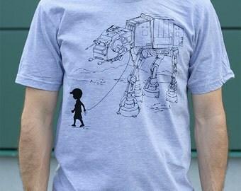 My Star Wars AT-AT Pet - American Apparel Mens t shirt  ( Star Wars tshirt )