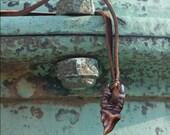 Wolf Fang Talisman -- Bronze Pendant