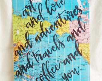 Art and Love and Adventures Print