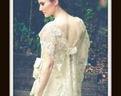 Boho Lace Wedding Dress  'CALLIOPE'