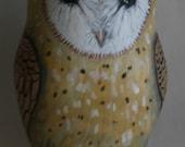 Painted Cloth Barn Owl