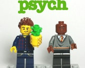 Psych - Custom Lego Minifigure Set