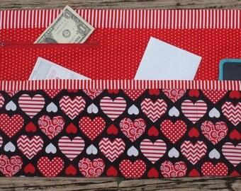 Heart Vendor Craft Apron, Farmer's Market, Teacher Apron, Utility Apron, Garden apron Ready to Ship