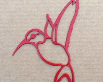 Hummingbird Metal Wall Art    (Y)