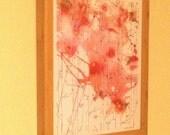 Framed Art, Any 11x14 Print in Medium Brown Bamboo Wood Frame, Living Room Art,Ready to Hang Art, Framed Artwork, Living Room Decor,Wall Art