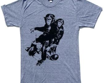 Funny Shirt, Graphic Tees, Mens Shirt, Mens Tshirt, Monkey Tshirt, Cool Tshirt, Geekery, Mens, Funny T Shirt, Monkey Shirt, Graphic Tshirt