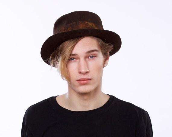 Pork Pie Men's Hat Fall Fashion Spring Accessories Winter Hat Men's Dress Hat Top Hat Gondolier's Hat Boater Hat Coachman's Hat John Bull