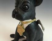 Personalized Pet - Dog Sculpture Portrait - French Bulldog - Dachshund - Schnauzer & more