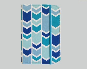 Kindle Cover Hardcover, Kindle Case, eReader, Kobo, Kindle Voyage, Kindle Fire HD 6 7, Kindle Paperwhite, Nook GlowLight Blue Arrows