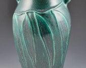 Arts & Crafts Style Eucalyptus Branch Vase