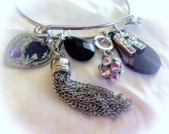 Baltimore Ravens Jewelry handmade Bracelets
