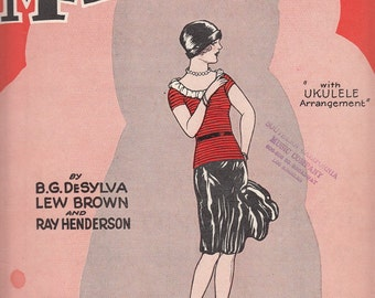 Mix the Lot What Have You Got? Magnolia 1927 Sheet Music Flapper Girl