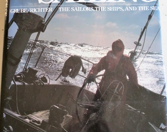 Vintage 1979 The Big Book of Sailing Coffee Table Book