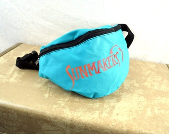 Vintage 80s Fanny Pack - Sun Makers