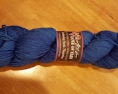 Hand Dyed Yarn Fingering Enduring, Sock, Shawl, Corriedale, Nylon  430 yards Watertown