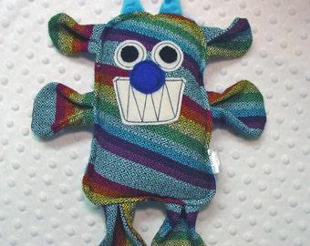 Harper Beest - Girasol Harper Street DW Cuervo  Wrap Scrap Monster Beast Pillow Plush