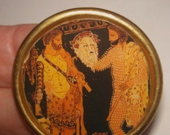 Greek  Mythology Brooch