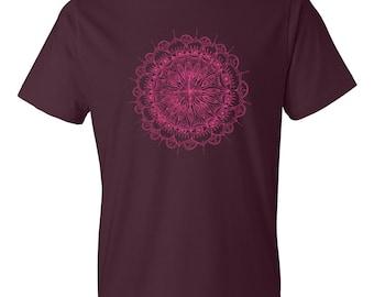 Mandala T-shirt | Yoga | Workout | Tee | Running | Boho