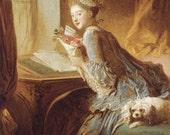 Lettre d'Amour Perfume Oil - Star Jasmine, Neroli, White Roses, White Amber, Perfumed Ink - 5 ml.