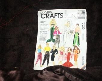 Mccalls vintage pattern 730 Barbie fashion doll clothing