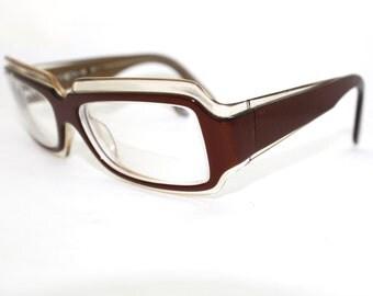 1990s Eyeglasses // Rare 80s 90s Vintage Designer Frames //Soiree / Jee Vice