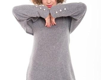 Convertible dress | Multiway dress | Light gray dress | LeMuse convertible dress