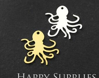 Golden Octopus Etsy