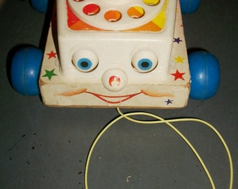 Fisher Price Chatter Telephone Pull Toy