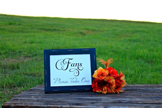 Fans Sign, Wedding Sign, Wedding Favor Sign, INSTANT DOWNLOAD, Wedding Reception